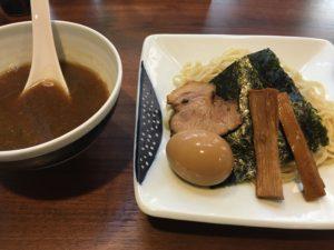 ラーメン純のつけ麺(並)