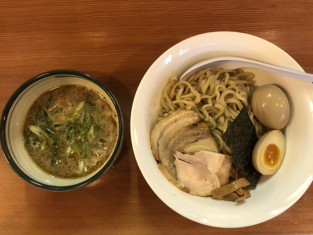 麺処倭のつけ麺