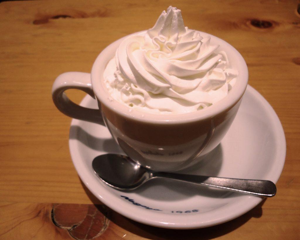 コメダ珈琲のウィンナーコーヒー
