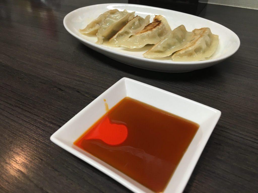 中華そばよしの餃子