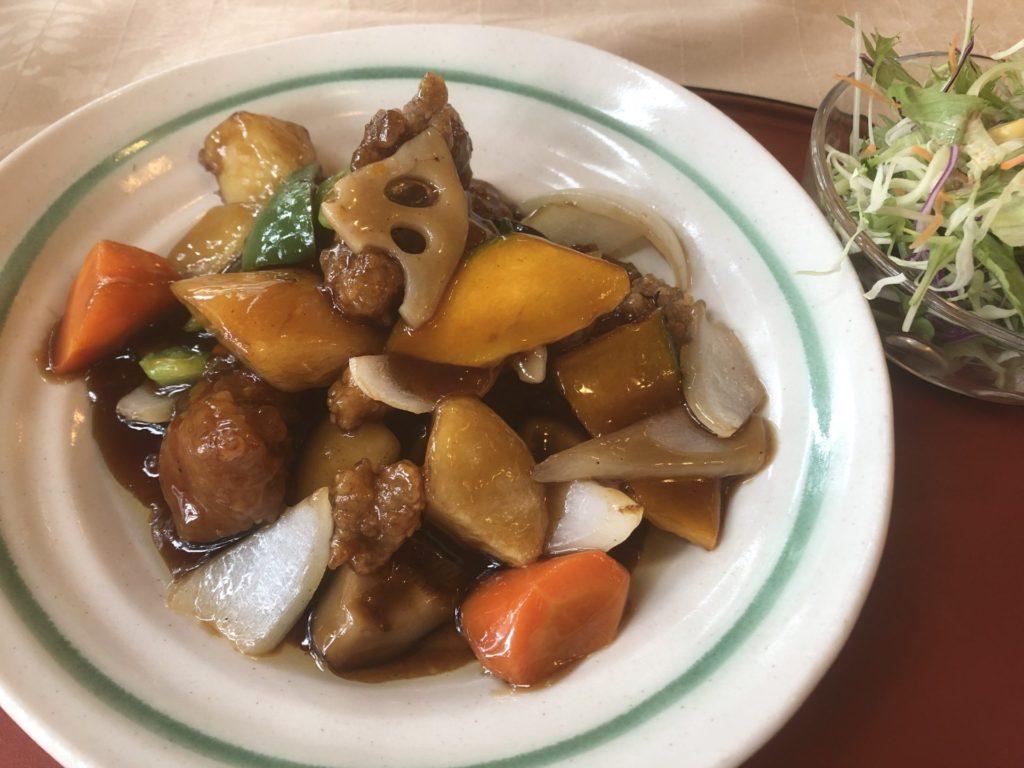 興慶の酢豚